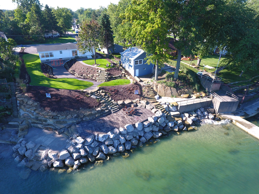 Edgewater Boulevard Lake Property And Breakwall 1