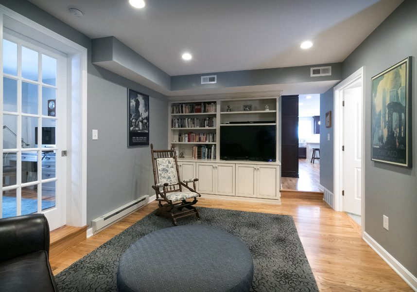 Somerset Family Room Remodel 8
